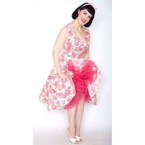 Bernie Dexter Saturday Night Dress - Pink Roses